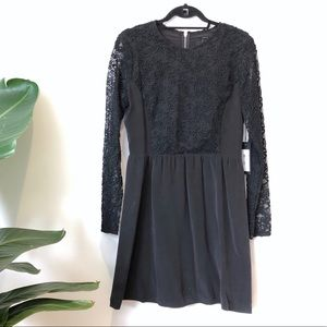 NWT Dolce Vita - little black dress - lace